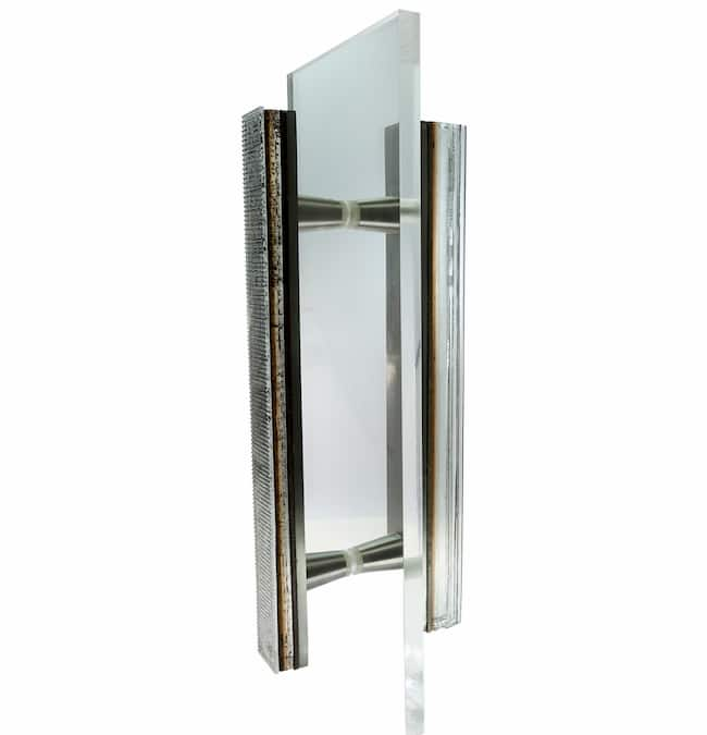 Riffs 12in. Shower Door Double Handle - #RSP12